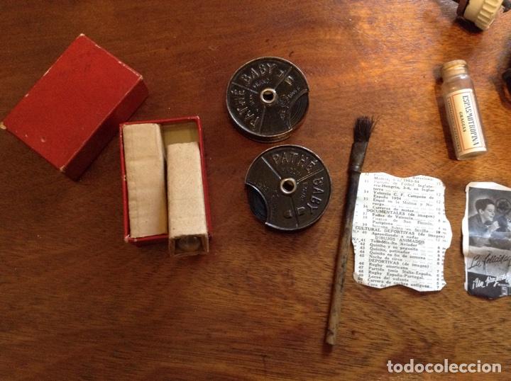 Antigüedades: Proyecto cine Baby Pathe , 1930, con caja de madera - Foto 9 - 112070340