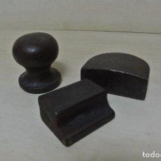 Antigüedades: JUEGO DE TRES TAS DE CHAPISTA . Lote 70253289