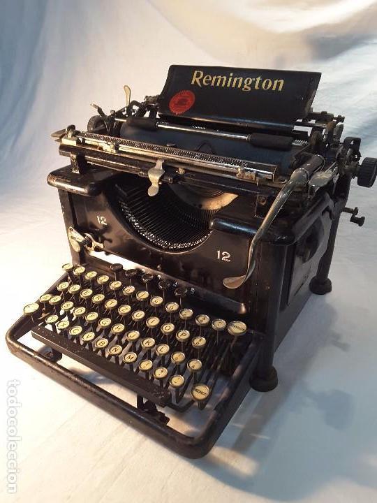 REMINGTON MODELO 12 DE LOS AÑOS 20 (Antigüedades - Técnicas - Máquinas de Escribir Antiguas - Remington)