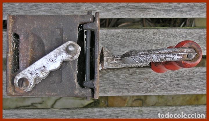 Antigüedades: Lote 2 PLANCHA HIERRO FUNDIDO - Foto 4 - 70403185