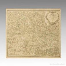 Antigüedades: HAINAUT, CAMBRESIS, NAMUR (FRANCIA-BÉLGICA). - ROBERT DE VAUGONDY, GILES. Lote 54239442