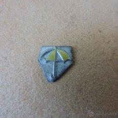 Antigüedades: ANTIGUO SELLO / TAMPÓN CLICHÉ O PLANCHA IMPRENTA / CUÑO FUNDICION TIPOGRAFICO PARAGUAS. Lote 70472605