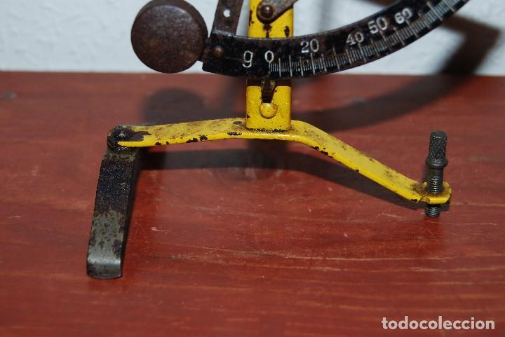 Antigüedades: ANTIGUO PESO PARA CARTAS - BÁSCULA - CORREOS - 100 GRAMOS - Foto 10 - 70564865