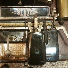 Antigüedades: MAQUINA ANTIGUA DE PUNTERO FUNCIONANDO.. Lote 70571563