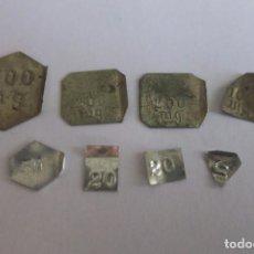 Antigüedades: PESAS DIVISORIAS DE 500 A 10 MILIGRAMOS. Lote 70593461