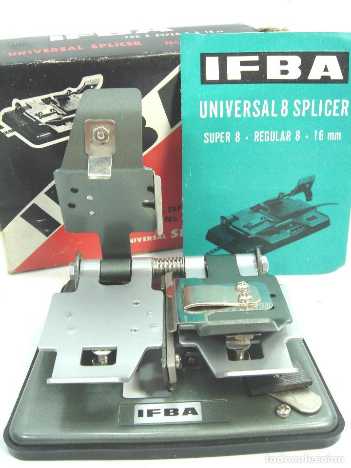 EMPALMADORA UNIVERSAL CINE - IFBA - VALIDA PARA PELICULA SUPER 8 REGULAR 8 Y 16 MM - VIDEO (Antigüedades - Técnicas - Aparatos de Cine Antiguo - Proyectores Antiguos)