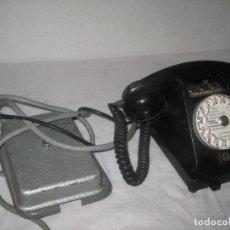 Teléfonos: TELÉFONO ANTIGUO CON SU CAJA DE CONEXIÓN. Lote 71016621
