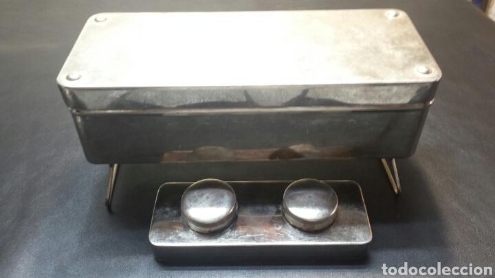 Antigüedades: Recipiente para esterilización con quemadores completo - Foto 5 - 71067315