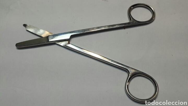 Antigüedades: Tijeras antiguas para quitar puntos de sutura - Foto 2 - 71068269