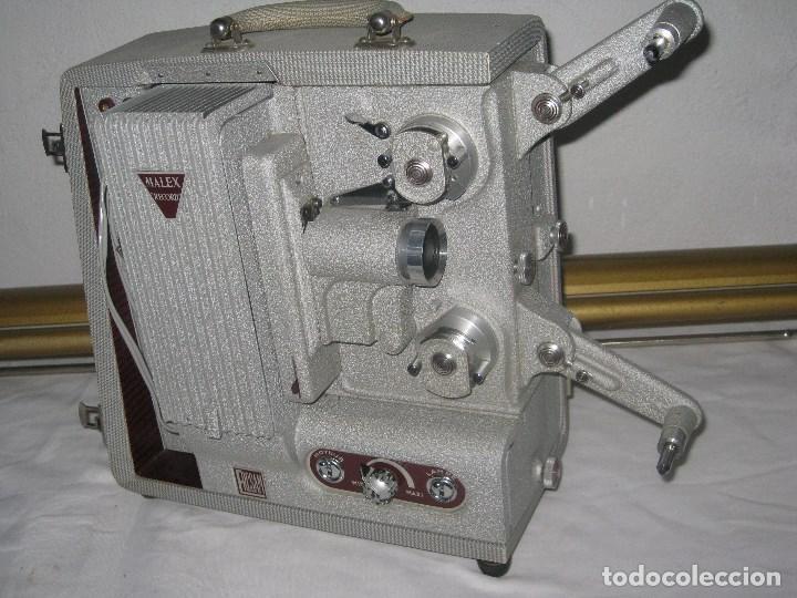 Antigüedades: Antiguo proyector Record, Malex, Ercsam. 8mm. Años 50 - Foto 4 - 71179993