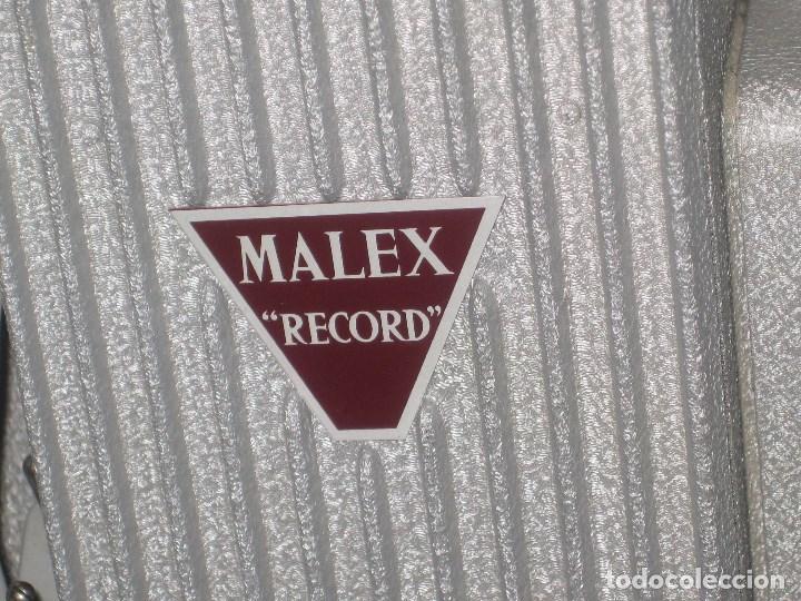 Antigüedades: Antiguo proyector Record, Malex, Ercsam. 8mm. Años 50 - Foto 6 - 71179993