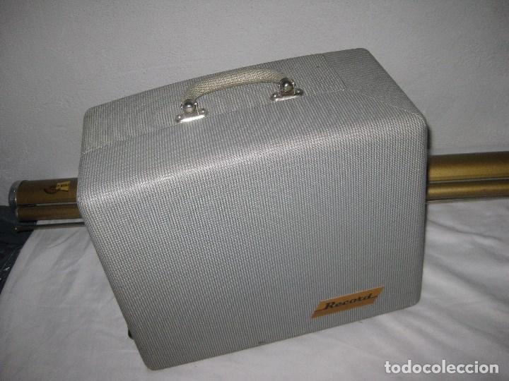 Antigüedades: Antiguo proyector Record, Malex, Ercsam. 8mm. Años 50 - Foto 10 - 71179993