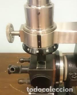 Antigüedades: Refractómetro Abbe fabricado por Carl Zeiss, Jena, Alemania (Con caja e instrumental) - Foto 4 - 69996701