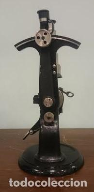 Antigüedades: Refractómetro Abbe fabricado por Carl Zeiss, Jena, Alemania (Con caja e instrumental) - Foto 6 - 69996701