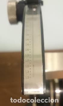 Antigüedades: Refractómetro Abbe fabricado por Carl Zeiss, Jena, Alemania (Con caja e instrumental) - Foto 7 - 69996701
