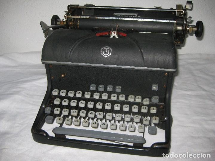 MAQUINA ESCRIBIR ANTIGUA (TORPEDO) (Antigüedades - Técnicas - Máquinas de Escribir Antiguas - Otras)