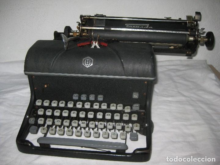 Antigüedades: Maquina escribir antigua (Torpedo) - Foto 2 - 71186873