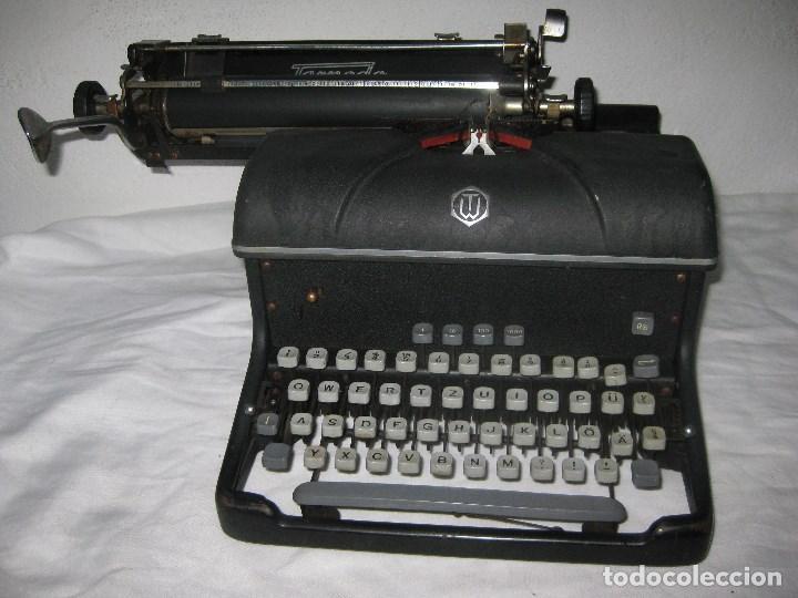 Antigüedades: Maquina escribir antigua (Torpedo) - Foto 3 - 71186873