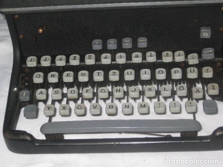 Antigüedades: Maquina escribir antigua (Torpedo) - Foto 6 - 71186873