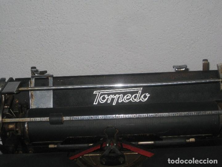 Antigüedades: Maquina escribir antigua (Torpedo) - Foto 7 - 71186873