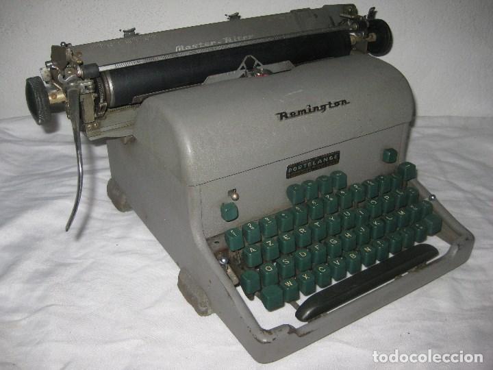 MAQUINA ESCRIBIR ANTIGUA (REMINGTON) (Antigüedades - Técnicas - Máquinas de Escribir Antiguas - Remington)