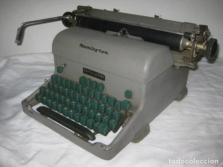 Antigüedades: Maquina escribir antigua (Remington) - Foto 2 - 71187237