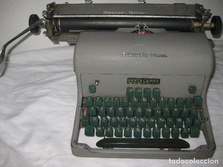 Antigüedades: Maquina escribir antigua (Remington) - Foto 4 - 71187237