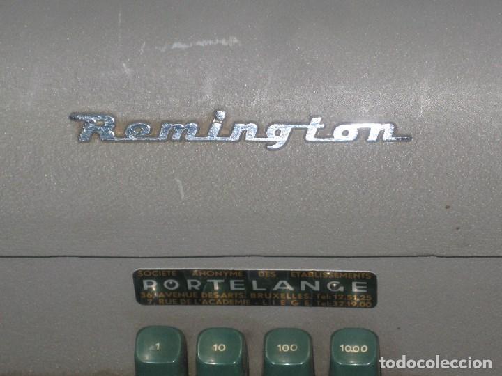 Antigüedades: Maquina escribir antigua (Remington) - Foto 5 - 71187237