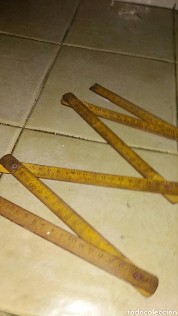 Antigüedades: Metro de madera - Foto 3 - 71223795