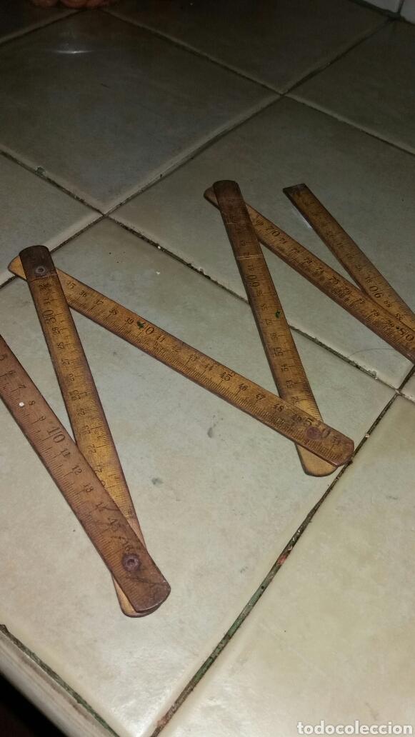 Antigüedades: Metro de madera - Foto 4 - 71223795