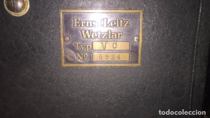 Antigüedades: VISOR ERNST LEITZ WETZLART - XXX 050 - Foto 15 - 42974316