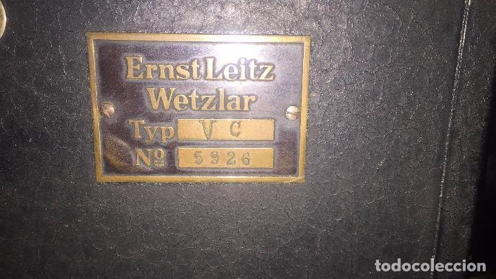 Antigüedades: VISOR ERNST LEITZ WETZLART - XXX 050 - Foto 16 - 42974316