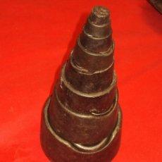 Antigüedades: CONJUNTO DE PESOS COMPLETOS 10 KG A 50 GR. Lote 71241727