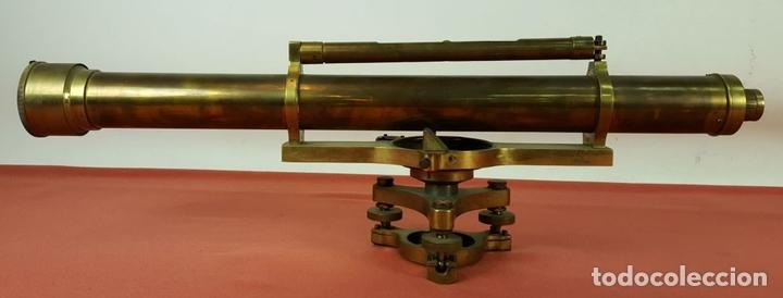 Antigüedades: TEODOLITO DE PRECISION COOKE TROUGHTON SIMS. INGLATERRA. PRINCIPIOS SIGLO XX. - Foto 9 - 67096389