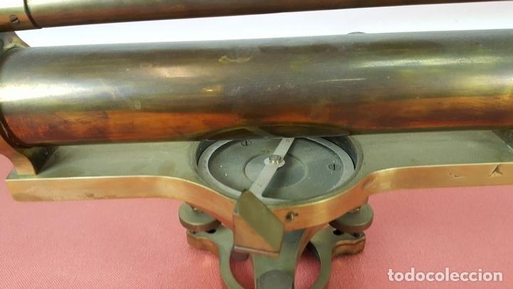 Antigüedades: TEODOLITO DE PRECISION COOKE TROUGHTON SIMS. INGLATERRA. PRINCIPIOS SIGLO XX. - Foto 15 - 67096389