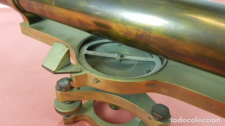 Antigüedades: TEODOLITO DE PRECISION COOKE TROUGHTON SIMS. INGLATERRA. PRINCIPIOS SIGLO XX. - Foto 19 - 67096389