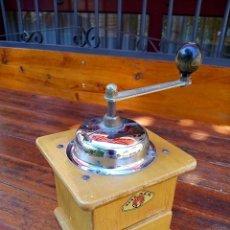 Antigüedades: ANTIGUO MOLINILLO DE CAFÉ DE ORIGEN ALEMÁN. Lote 71465067