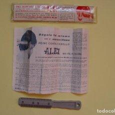 Antigüedades: PEINE CORTA CABELLO ALBI (BARCELONA, 1970'S). ORIGINAL ¡COLECCIONISTA!. Lote 71468727