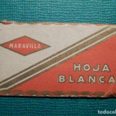 Antigüedades: HOJA DE AFEITAR DE COLECCIÓN - CUCHILLA - BLADE - HOJA BLANCA - LAME - MARAVILLA - ACERO QUIRÚRGICO. Lote 71529659