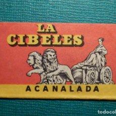 Antigüedades: HOJA DE AFEITAR DE COLECCIÓN - CUCHILLA - BLADE - HOJA - LAME - LA CIBELES ACANALADA - ACERO SUECO. Lote 71529863