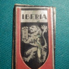 Antigüedades: HOJA DE AFEITAR COLECCIÓN - CUCHILLA - BLADE - HOJA - LAME - IBERIA EXTRA LUJO - 0,08 MM - PTAS 0,70. Lote 71530311