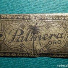 Antigüedades: HOJA DE AFEITAR DE COLECCIÓN - CUCHILLA - BLADE - HOJA - LAME - PALMERA ORO - Nº 60 - HERBERZ. Lote 71534467