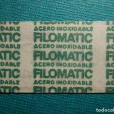 Antigüedades: HOJA DE AFEITAR DE COLECCIÓN - CUCHILLA - BLADE - LAME - FILOMATIC. Lote 71536099