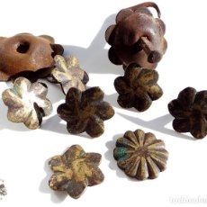 Antigüedades: COLECCIÓN CLAVOS Y REMACHE EN FORJA Y BRONCE. Lote 71942463
