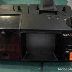 Antigüedades: ANTIGUO RETROPROYECTOR VISOR SUPER 8 MM FUNCIONA. Lote 72035535