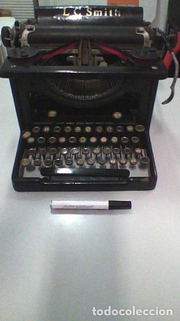 Antigüedades: Máquina de escribir L.C. Simth - Foto 8 - 51881880