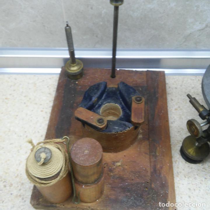Antigüedades: TEODOLITO DE BRONCE , TOPOGRAFO SUIZO AARAU DE KERN & CO. EN SU CAJON DE MADERA ORIGINAL * IMPECABLE - Foto 20 - 72261887