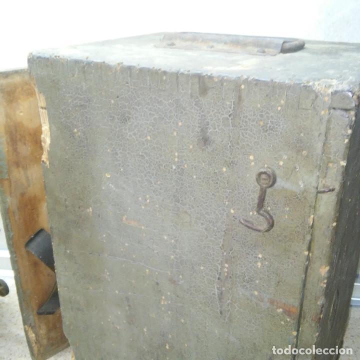 Antigüedades: TEODOLITO DE BRONCE , TOPOGRAFO SUIZO AARAU DE KERN & CO. EN SU CAJON DE MADERA ORIGINAL * IMPECABLE - Foto 29 - 72261887