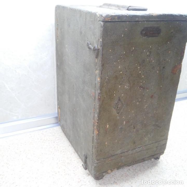 Antigüedades: TEODOLITO DE BRONCE , TOPOGRAFO SUIZO AARAU DE KERN & CO. EN SU CAJON DE MADERA ORIGINAL * IMPECABLE - Foto 41 - 72261887