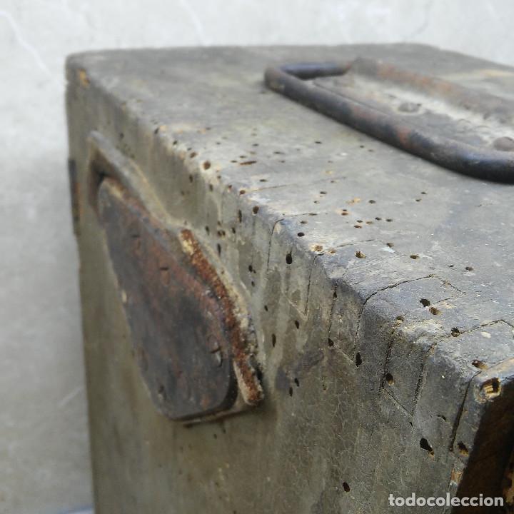 Antigüedades: TEODOLITO DE BRONCE , TOPOGRAFO SUIZO AARAU DE KERN & CO. EN SU CAJON DE MADERA ORIGINAL * IMPECABLE - Foto 45 - 72261887